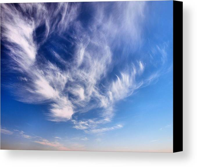 Clouds Canvas Print featuring the photograph Whisper by Tom Druin