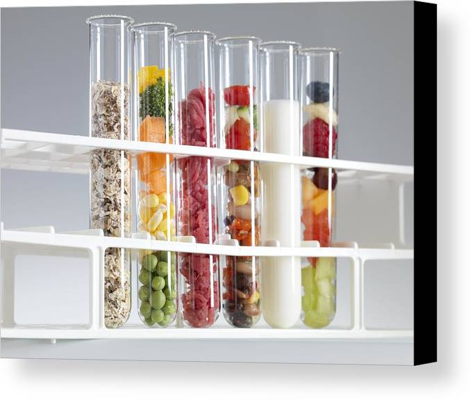 Equipment Canvas Print featuring the photograph Balanced Diet by Tek Image