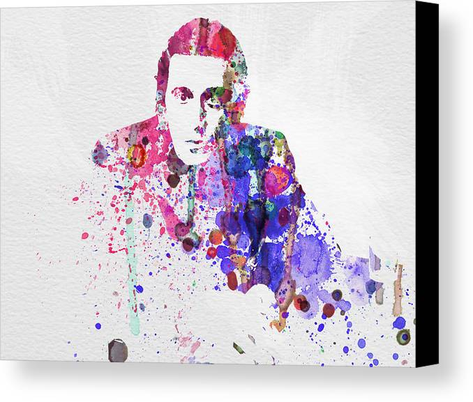 Al Pacino Canvas Print featuring the painting Al Pacino by Naxart Studio