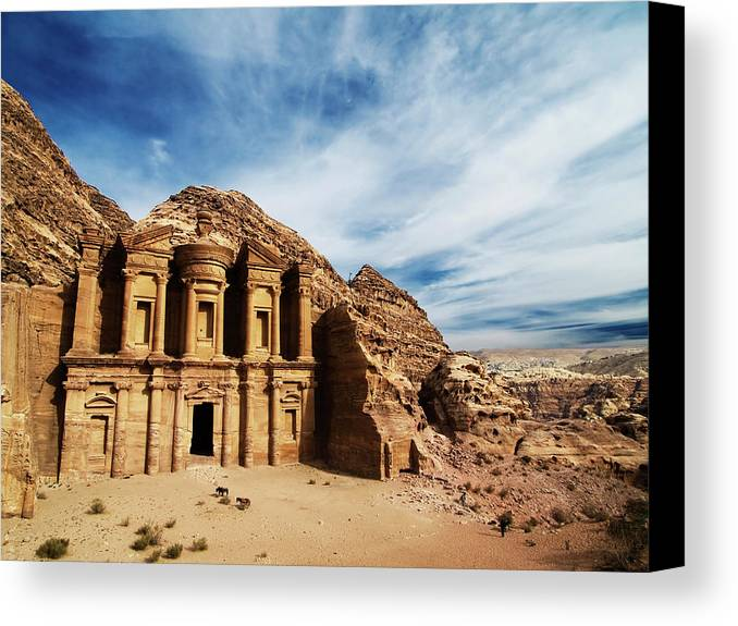 Horizontal Canvas Print featuring the photograph Monastery by Julian Kaesler