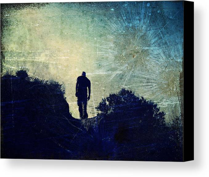 Texture Canvas Print featuring the photograph This Is More Than Just A Dream by Tara Turner