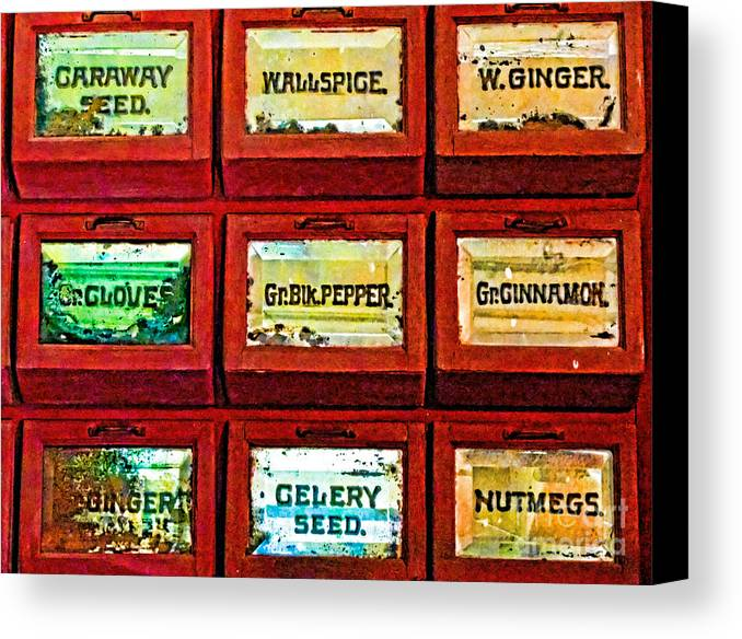 Spice Canvas Print featuring the photograph The Spice Of Life by Colleen Kammerer
