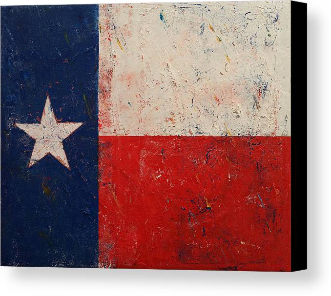 Art Canvas Print featuring the painting Lone Star by Michael Creese