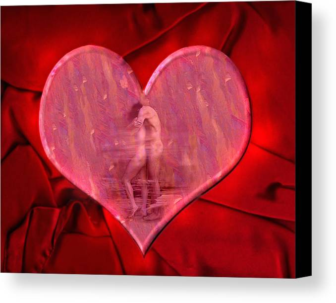 Lovers Canvas Print featuring the photograph My Heart's Desire 2 by Kurt Van Wagner