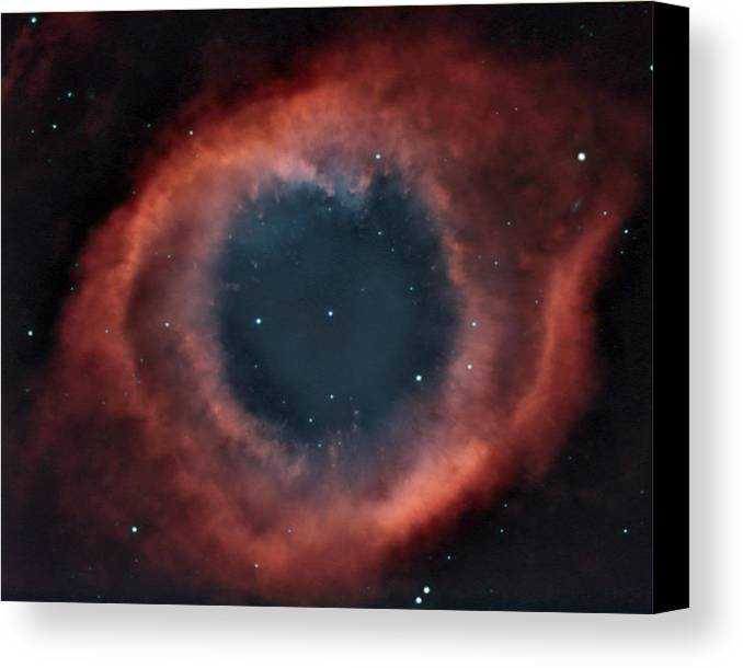 Helix Canvas Print featuring the photograph Helix Nebula by Charles Warren