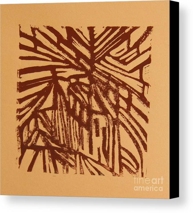 Cross Way Canvas Print featuring the mixed media Cross Way by Christiane Schulze Art And Photography