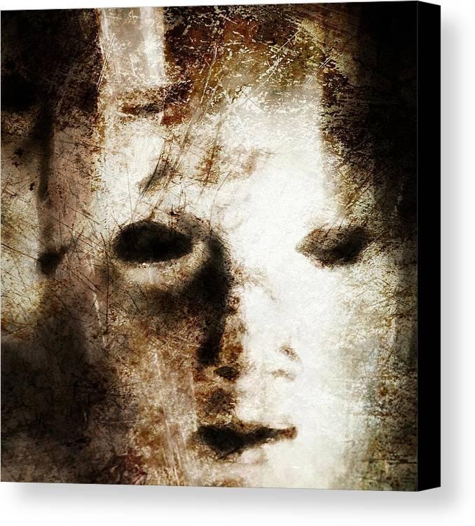 Empty Canvas Print featuring the digital art Empty by Gun Legler