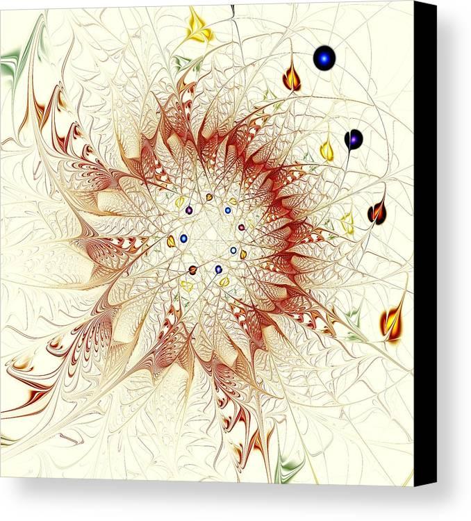 Malakhova Canvas Print featuring the digital art Juggle by Anastasiya Malakhova