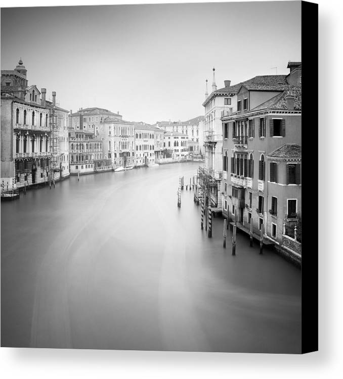 Venice Canvas Print featuring the photograph Canal Grande Study II by Nina Papiorek