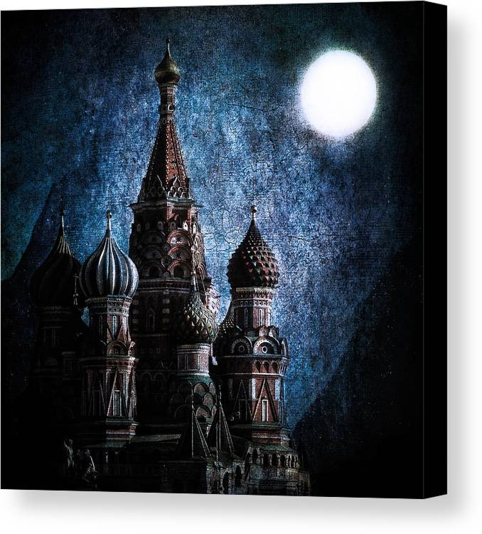 St Basils Canvas Print featuring the photograph Solace by Andrew Paranavitana