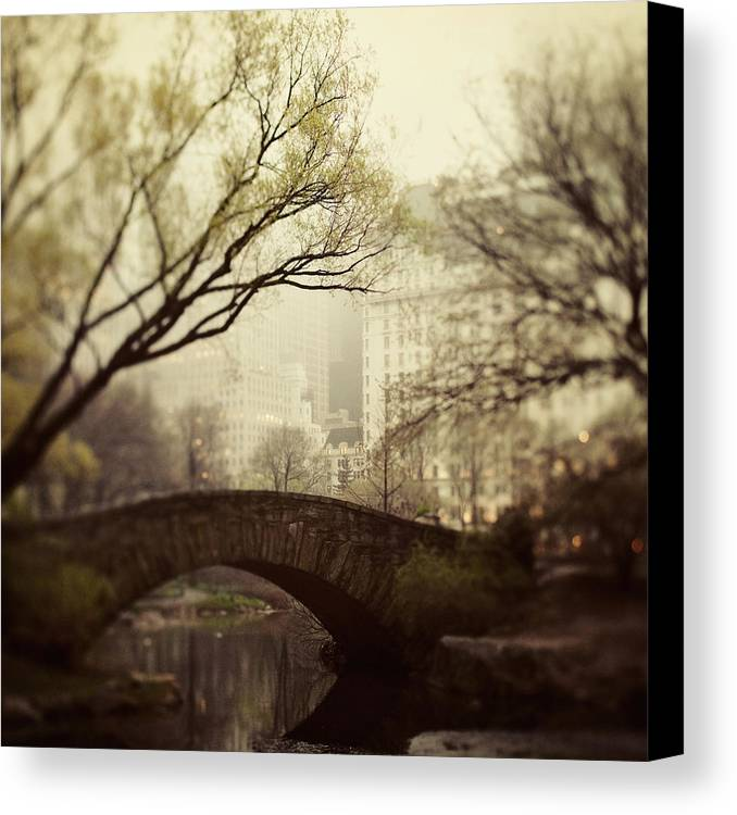 Nyc Canvas Print featuring the photograph Fairy Of New York by Irene Suchocki