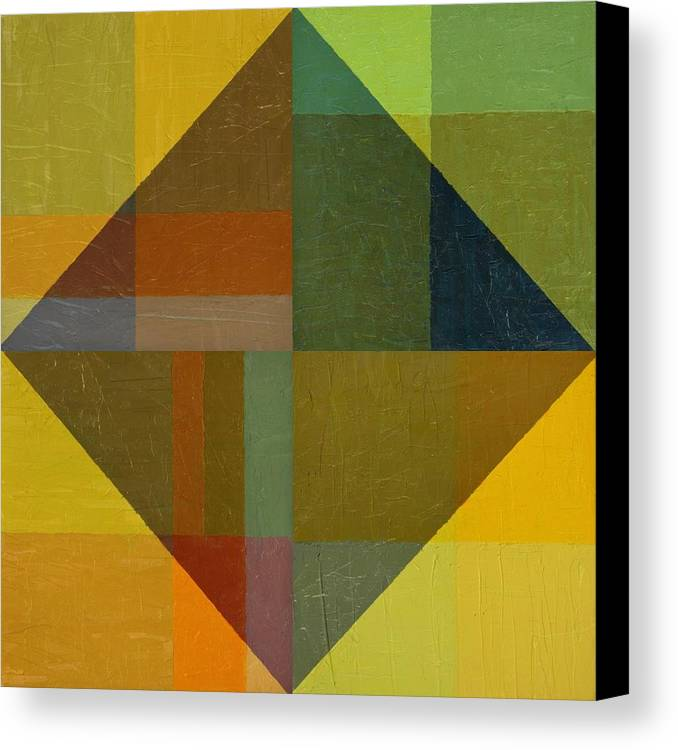 Perspective In Color Collage 8 Canvas Print by Michelle Calkins