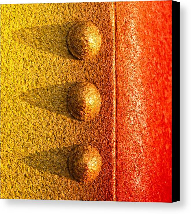 Raw Steel Canvas Print featuring the photograph Raw Steel by Tom Druin