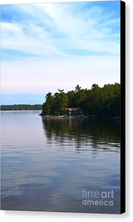 Lake Champlain 10 Canvas Print by Sarah Holenstein