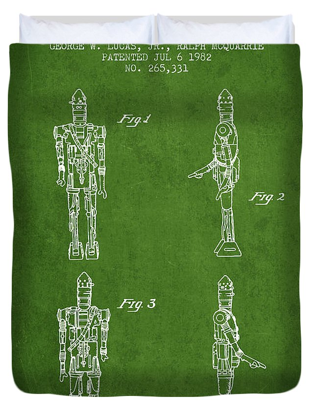 Star Wars Toy Figure No5 Patent Drawing From 1982 Green