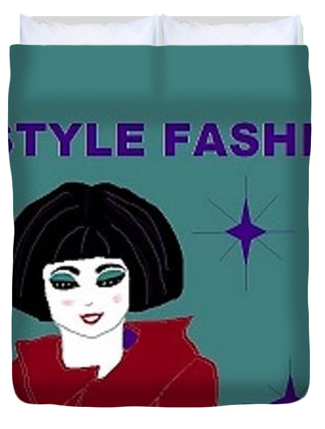 High Style Fashion Duvet Cover For Sale By Linda Velasquez