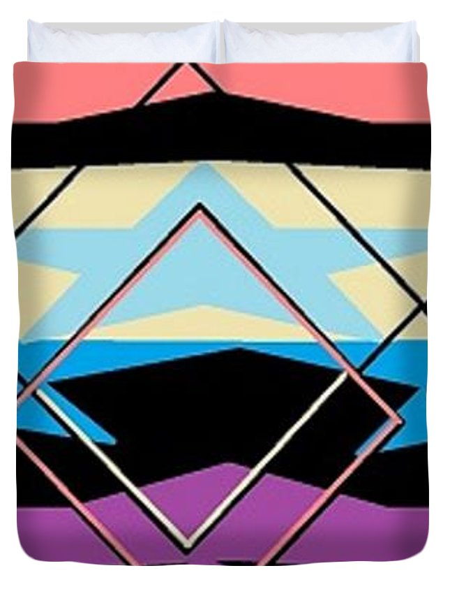 Navajo 5 Duvet Cover For Sale By Linda Velasquez
