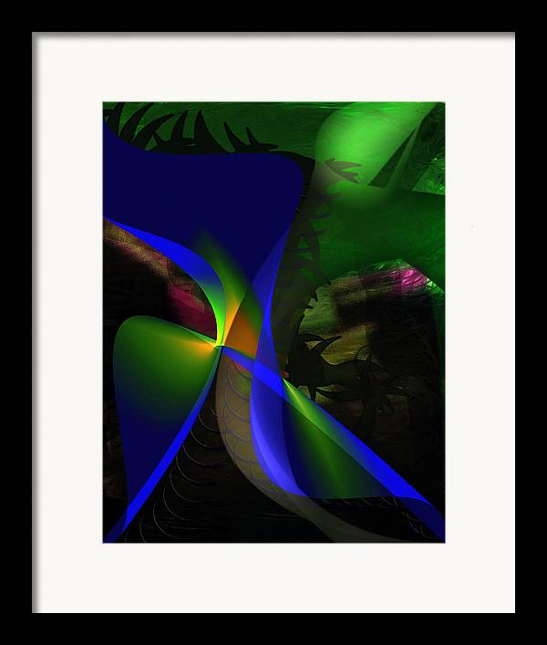 Contemporary Framed Print featuring the painting A Dream by Gerlinde Keating - Galleria GK Keating Associates Inc