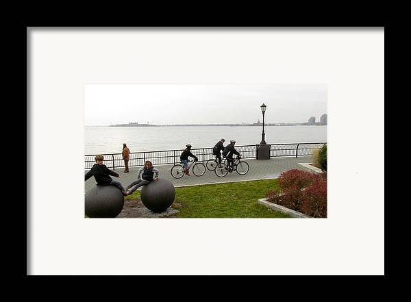 Ny Framed Print featuring the photograph After Hurricane Sandy by Randi Shenkman