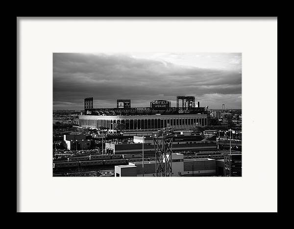 America Framed Print featuring the photograph Citi Field - New York Mets by Frank Romeo