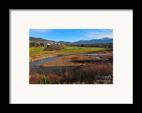 The Mount Washington Hotel Framed Print featuring the photograph Mount Washington by Catherine Reusch Daley