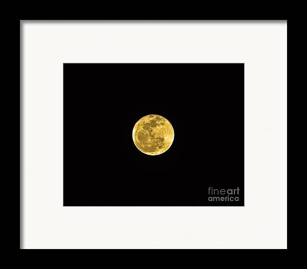 Moon Framed Print featuring the photograph Passover Full Moon by Al Powell Photography USA