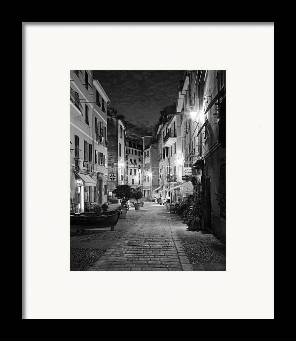Vernazza Framed Print featuring the photograph Vernazza Italy by Carl Amoth