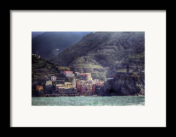 Vernazza Framed Print featuring the photograph Vernazza by Joana Kruse