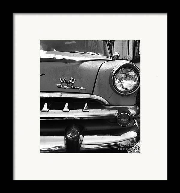 1956 Framed Print featuring the photograph 1956 Dodge 500 Series Photo 5 by Anna Villarreal Garbis
