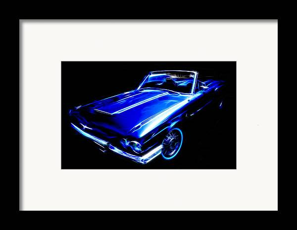 Ford Thunderbird Framed Print featuring the photograph 1964 Thunderbird by Phil 'motography' Clark