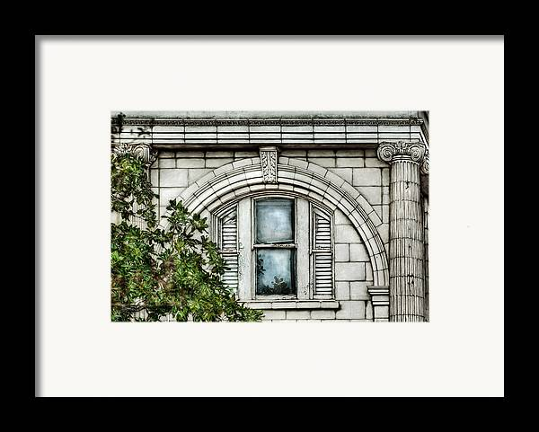 Window Framed Print featuring the photograph Elegance In The French Quarter by Brenda Bryant