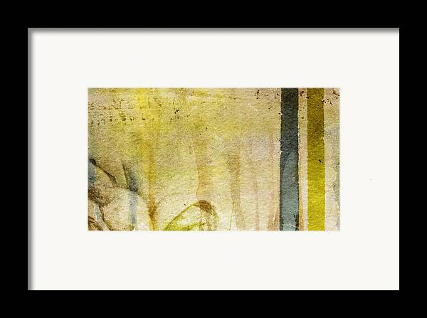 Brett Framed Print featuring the digital art Music Of My Life by Brett Pfister