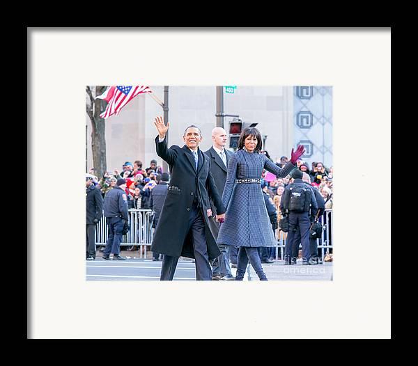 Inaugural Parade 2013 Framed Print featuring the photograph 2013 Inaugural Parade by Ava Reaves