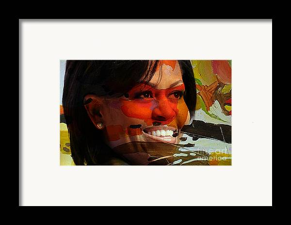 Michelle Obama Photographs Framed Print featuring the mixed media Michelle Obama by Marvin Blaine