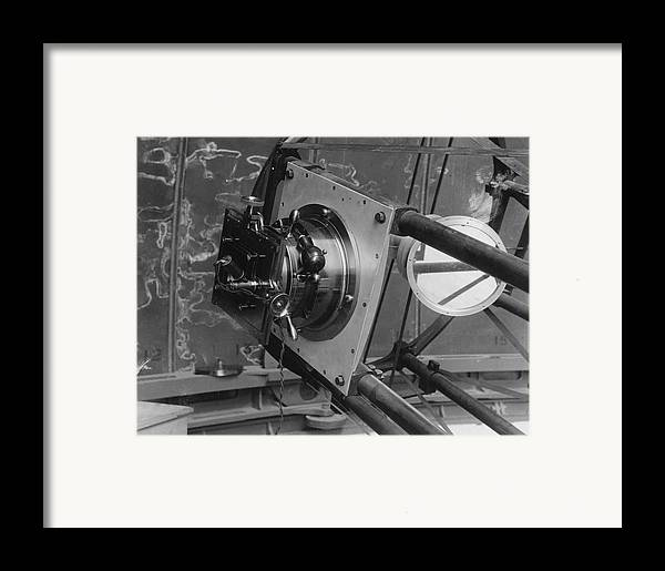 30-inch Telescope Focus, Helwan, Egypt Framed Print by Science Photo Library