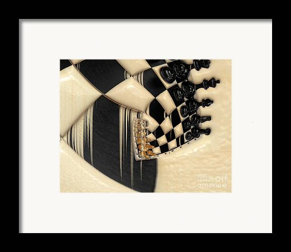 A Game Of Chess Framed Print featuring the photograph A Game Of Chess by Liane Wright