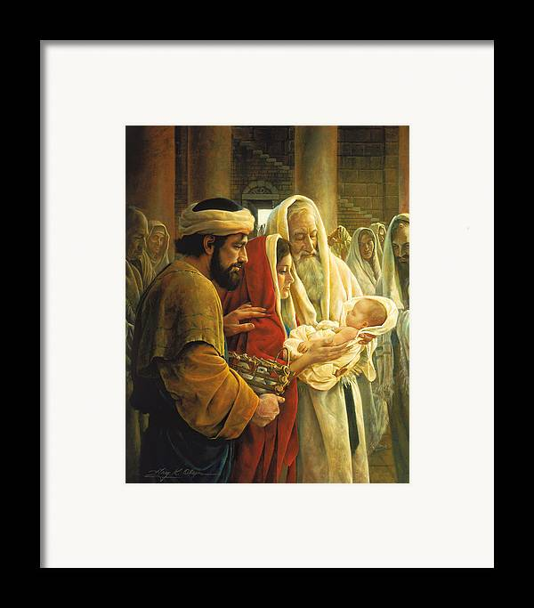 Jesus Framed Print featuring the painting A Light To The Gentiles by Greg Olsen