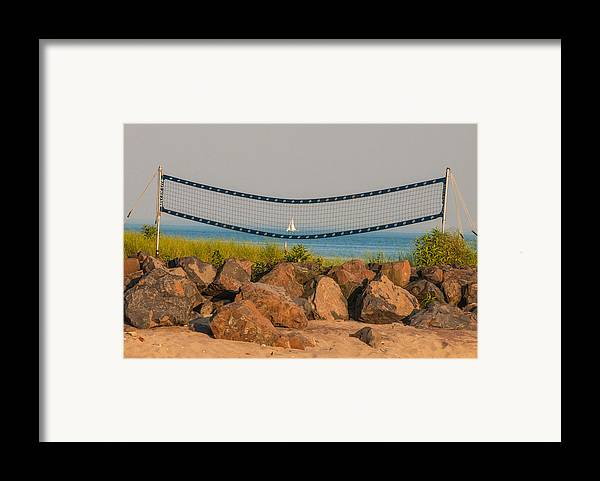 Westport Ct Framed Print featuring the photograph A Summers End by Terry Cosgrave