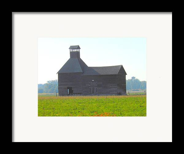 Architecture Framed Print featuring the photograph Abandoned by Kay Gilley