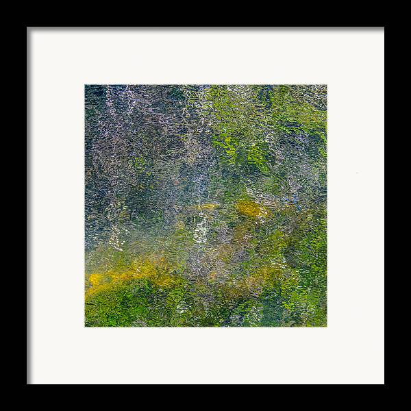 Abstract Framed Print featuring the photograph Abstract By Nature by Roxy Hurtubise