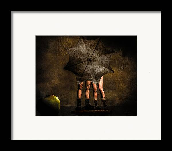 Adam Framed Print featuring the photograph Adam And Eve by Bob Orsillo