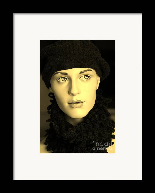 Face Framed Print featuring the photograph Adele 3 by Sophie Vigneault