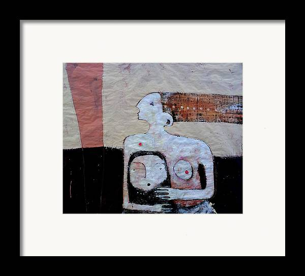 Age Framed Print featuring the painting Aetas No 3 by Mark M Mellon
