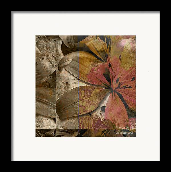 Framed Print featuring the mixed media Alexia Iv by Yanni Theodorou