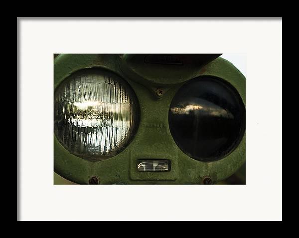 Alien Eyes Framed Print featuring the photograph Alien Eyes by Christi Kraft