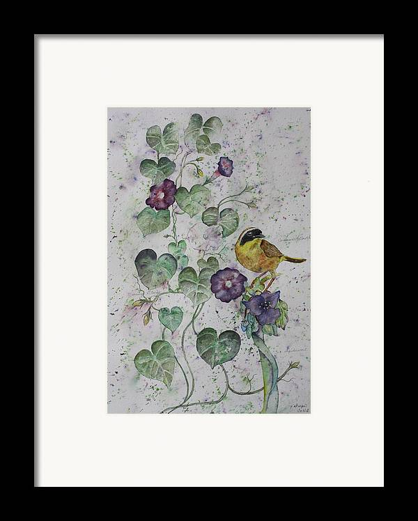 Botanical Framed Print featuring the painting Almost Botanical by Patsy Sharpe