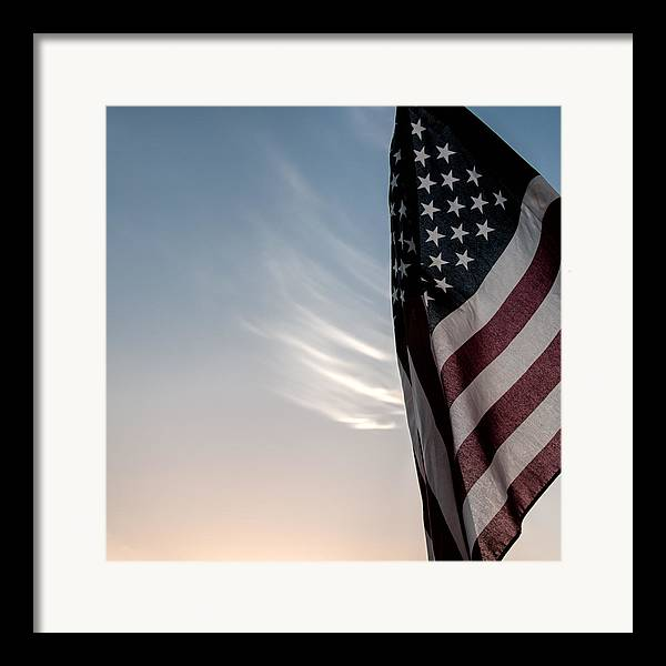 America Framed Print featuring the photograph America by Peter Tellone