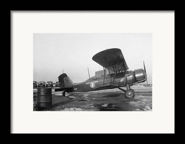 Aa Framed Print featuring the photograph American Airlines Stearman by Henri Bersoux
