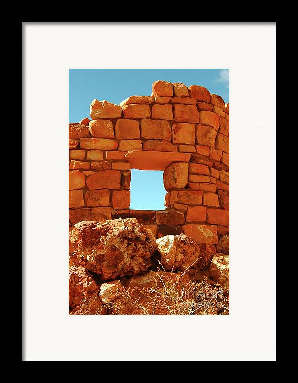 Angel's.window Framed Print featuring the photograph Angel's Window by Kathleen Struckle