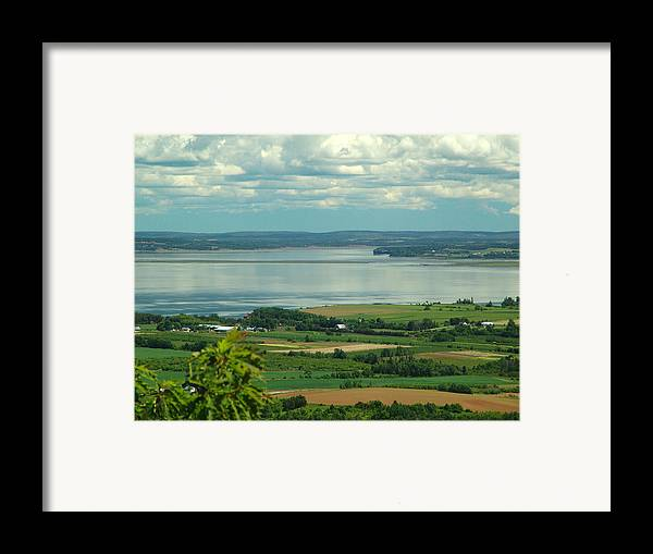 George Framed Print featuring the photograph Annapolis Valley No.1 by George Cousins